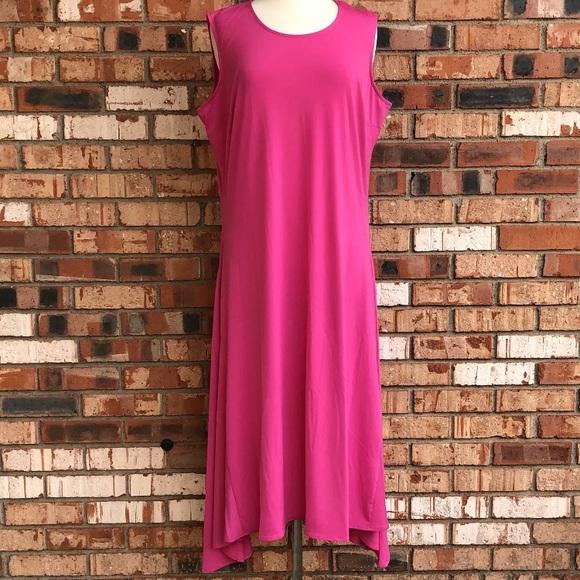XX Cherie Dresses | Plus Size 1416 Hot Pink Maxi Dress | Poshmark